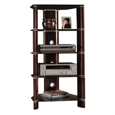 Cheap Bush Segments Collection – Audio Rack in Rosebud Cherry (BU1849)