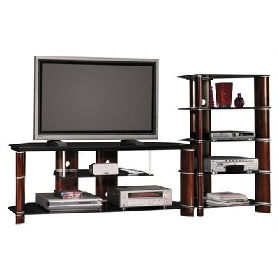 Cheap Bush Bush Segments Collection 58″ TV Stand and Audio Tower (BU2533)