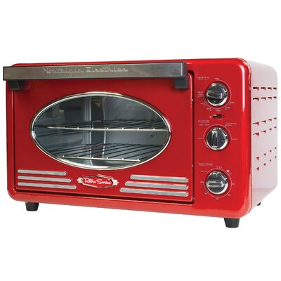 Retro Series 0.78 Cu. Ft. Convection Toaster Oven RTOV220RETRORED