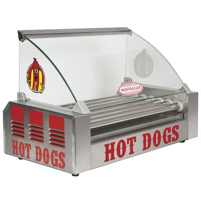 18-Dog Hot Dog Roller with Food Guard HDR18CVR
