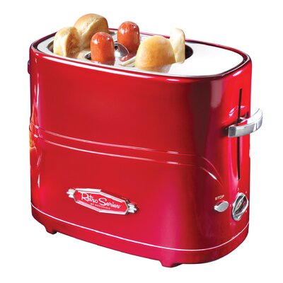 Retro Series Pop-Up Hot Dog Toaster HDT600RETRORED