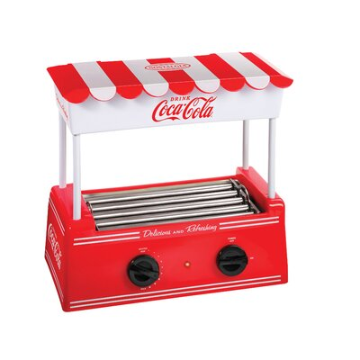 Nostalgia Electrics - Coca-Cola Series Old-Fashioned Hot Dog Roller - Red HDR565COKE