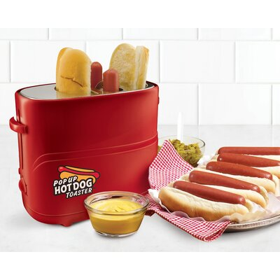 2 Slice Pop-Up Hot Dot Toaster HDT200RED2PK
