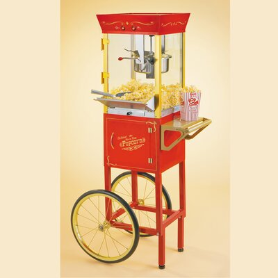 Old Fashioned Movie Time 53 Popcorn Cart