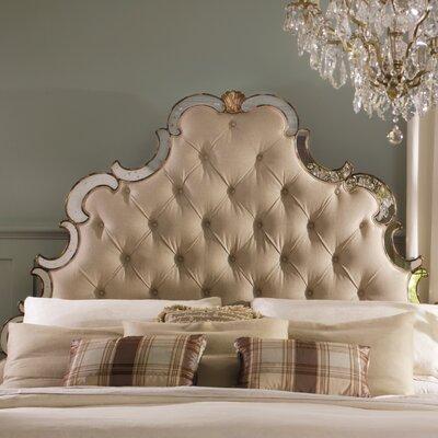 Sanctuary Upholstered Panel Headboard Size: King