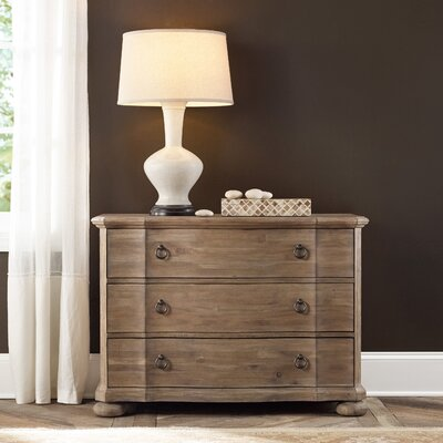 Corsica 3 Drawer Bachelors Chest Color: Light Wood