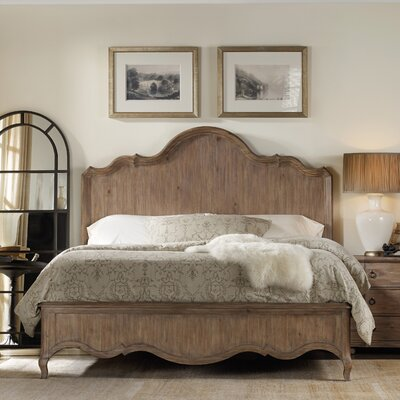 Corsica Panel Bed Rails Size: King, Finish: Natural