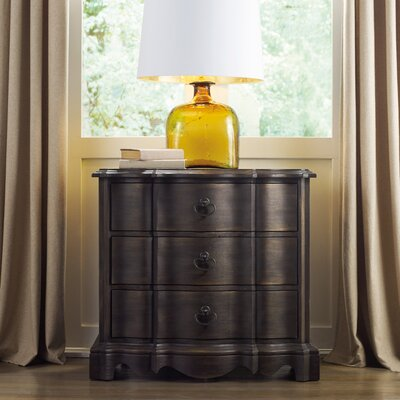 Corsica 3 Drawer Bachelors Chest Color: Espresso
