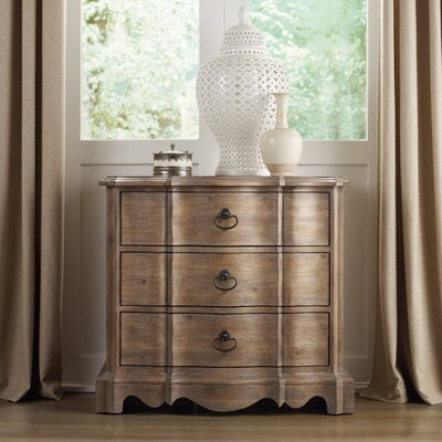 Corsica 3 Drawer Bachelors Chest Color: Natural