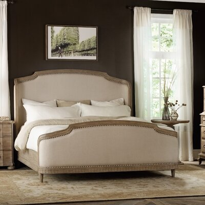 Corsica Upholstered Panel Bed