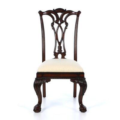Bedford Row Ball/Claw Desk Side Chair