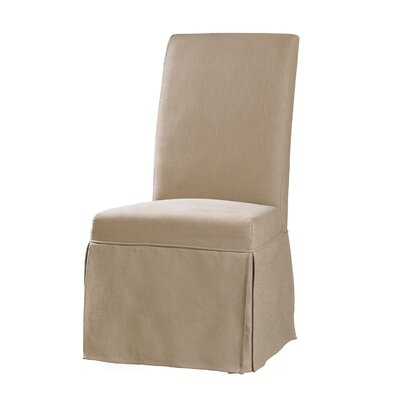 Sanctuary Clarice Parsons Chair (Set of 2) Upholstery: Hemp