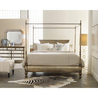 Melange Montage Bed Canopy Size: King
