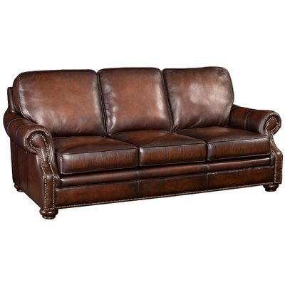 Hooker Leather Sofa Upholstery: Sedona Chateau