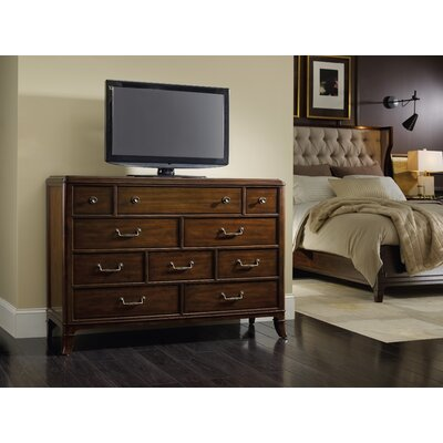 Palisade 10 Drawer Media Chest
