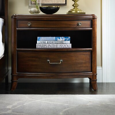 Palisade 2 Drawer Nightstand