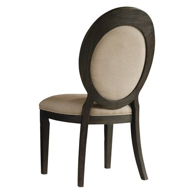 Corsica Side Chair (Set of 2) Finish: Espresso