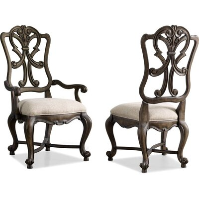 Rhapsody Solid Wood Dining Chair (Set of 2)