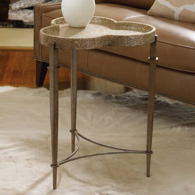 Melange Clover End Table