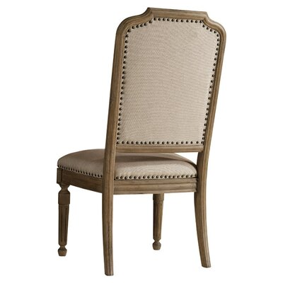 Corsica Side Chair (Set of 2) Finish: Natural