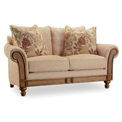 1125-52014 HKR6442 Hooker Furniture Windward Upholstered Loveseat
