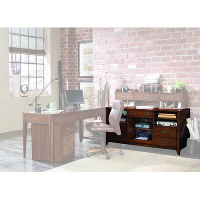 Danforth Open Credenza with Smart Hutch Product Picture 232