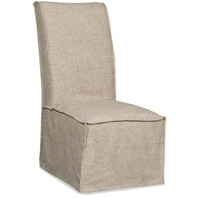 Zuma Upholstered Dining Chair Finish: Linen