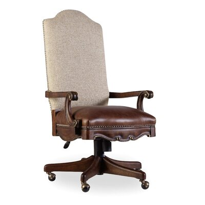 Adagio Leather Tilt Swivel Chair Product Image 884