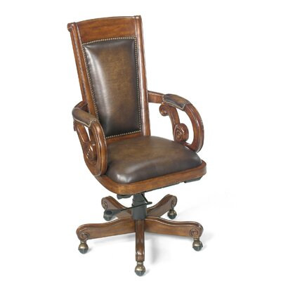 Leather Bankers Chair