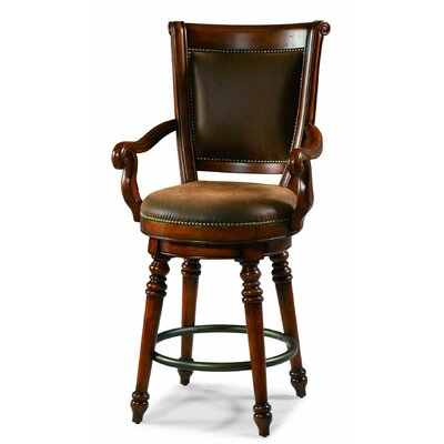 Waverly Place 33 Swivel Bar Stool with Cushion