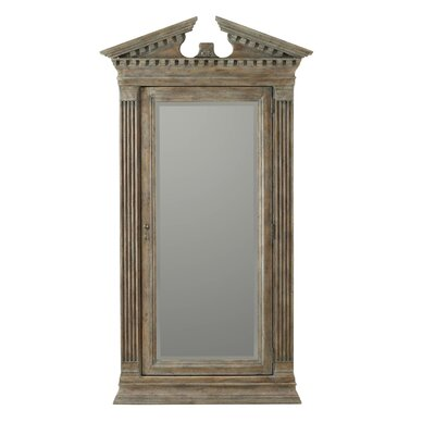 Rhapsody Floor Jewelry Armoire with Mirror