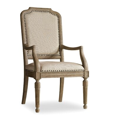 Corsica Arm Chair (Set of 2) Finish: Natural