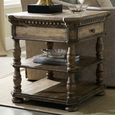Sorella End Table with Storage