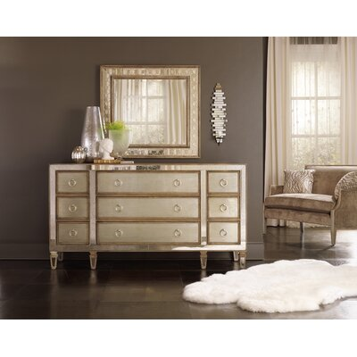 Sanctuary 9 Drawer Dresser with Mirror