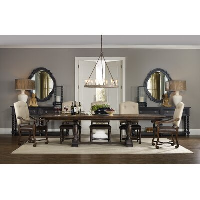 Treviso 5 Piece Extendable Dining Table Set