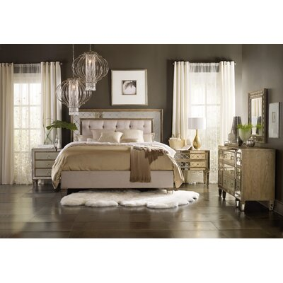 Sanctuary Upholstered Panel Customizable Bedroom Set