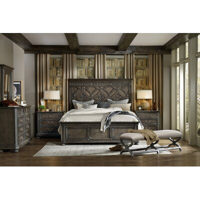 Vintage West California King Platform Configurable Bedroom Set