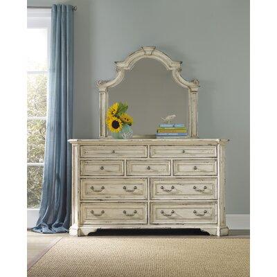Sanctuary 9 Drawer Dresser with Mirror