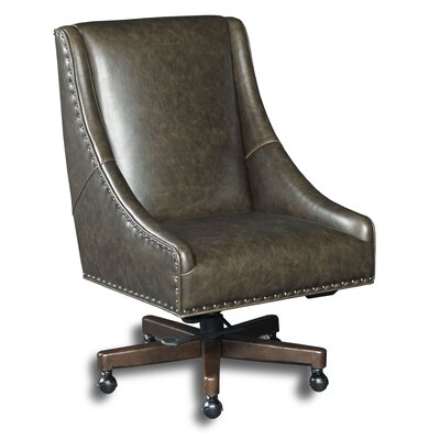 Bronx Leather Desk Chair