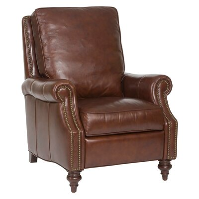 Hooker Conlon Recliner in Savannah Davenport Leather RC185-087