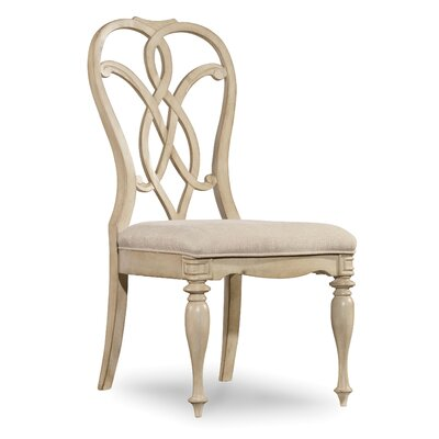Leesburg Dining Chair (Set of 2) Finish: Whites/Creams/Beige