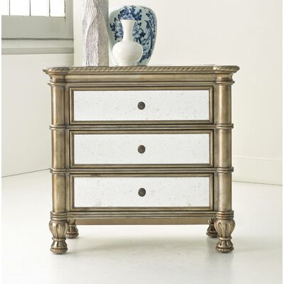Melange Montage 3 Drawer Bachelors Chest