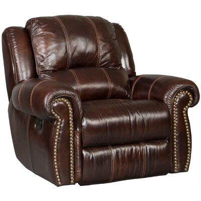 Glider Leather Recliner