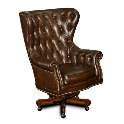 Leather Tilt Swivel Executive Chair Product Image 4666