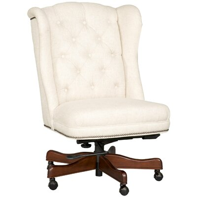 Linen Desk Chair