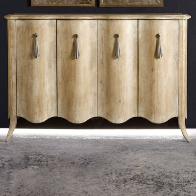 Melange Draped Sideboard