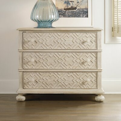 Sunset Point 3 Drawer Dresser Color: Hatteras White