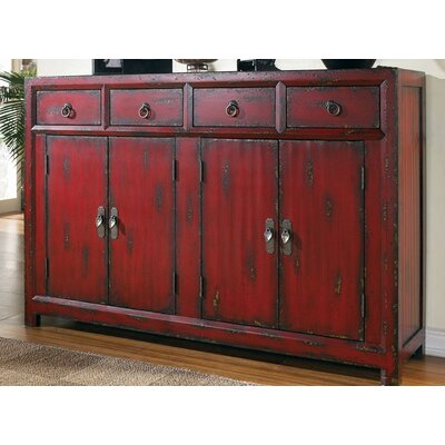 Cheap Hooker Furniture Seven Seas Red Asian Cabinet (HKR3294)