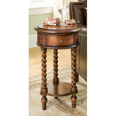 Seven Seas Inlay Top  End Table