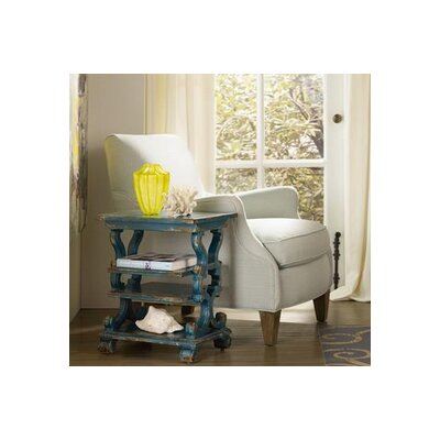 Sanctuary End Table Color: Blue
